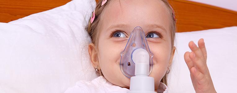 aerozoloterapia inhalacja dziecka